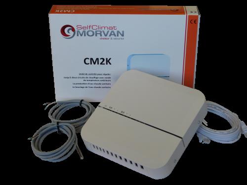 Unité de régulation CM2K pour 2 pilotages chauffage/ECS