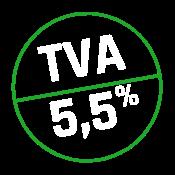 TVA réduite 5,5%*
