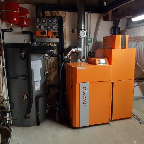 chaudière à granulés GM EASY 24 – DPT Mayenne